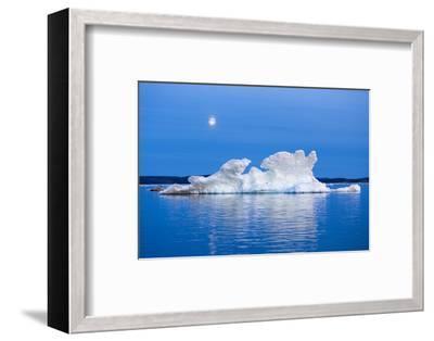 Melting Sea Ice, Repulse Bay, Nunavut Territory, Canada-Paul Souders-Framed Photographic Print