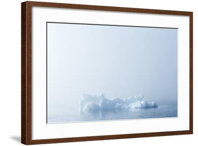 Melting Sea Ice, Hudson Bay, Nunavut Territory, Canada-Paul Souders-Framed Photographic Print