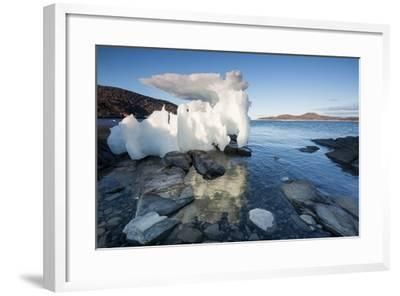 Melting Iceberg, Repulse Bay, Nunavut Territory, Canada-Paul Souders-Framed Photographic Print
