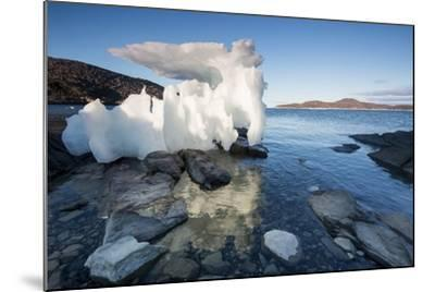 Melting Iceberg, Repulse Bay, Nunavut Territory, Canada-Paul Souders-Mounted Photographic Print