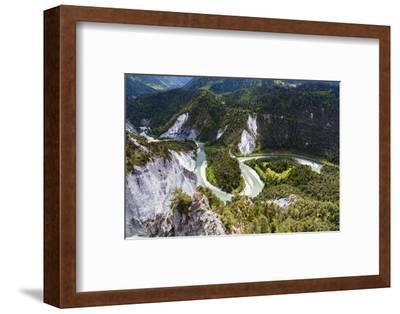 Canyon of the River Rhine-Frank Lukasseck-Framed Photographic Print