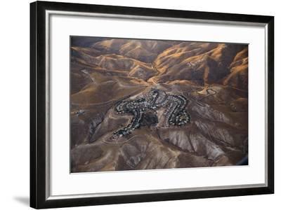The Desert near the Dead Sea.-Stefano Amantini-Framed Photographic Print