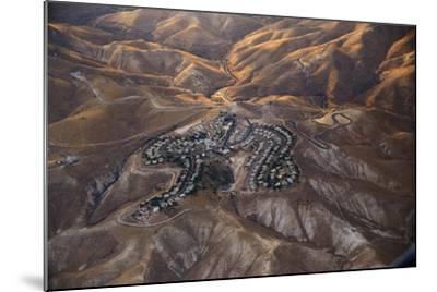 The Desert near the Dead Sea.-Stefano Amantini-Mounted Photographic Print