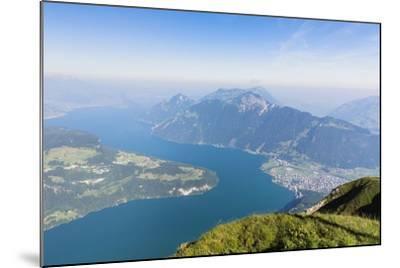 Lake Lucerne-Frank Lukasseck-Mounted Photographic Print