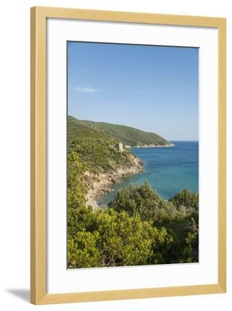 Le Cannelle Beach-Guido Cozzi-Framed Photographic Print