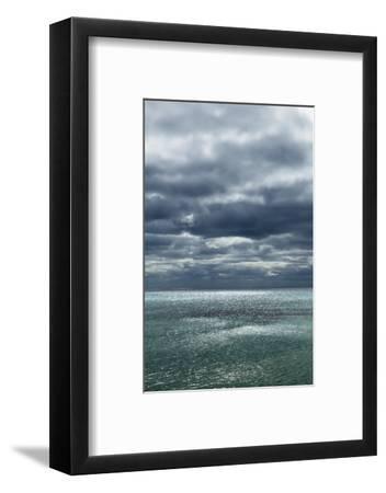 Cloud Impression at Ocean-Frank Krahmer-Framed Photographic Print
