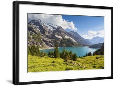 Lake Oeschinensee-Frank Lukasseck-Framed Photographic Print