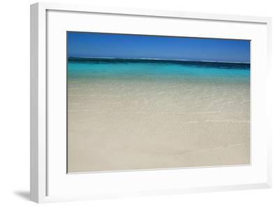 Tropical Lagoon Turquoise Bay-Frank Krahmer-Framed Photographic Print