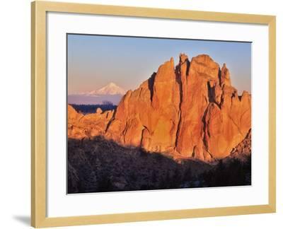 Smith Rock, Oregon-Steve Terrill-Framed Photographic Print