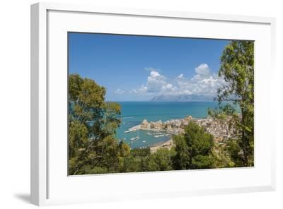View of Castellammare Del Golfo-Guido Cozzi-Framed Photographic Print