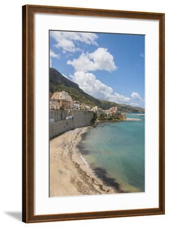 View of Castellammare Del Golfo-Guido Cozzi-Framed Photographic Print