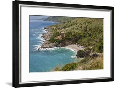 Lo Zingaro Natural Reserve, Tonnarella Dell'uzzo-Guido Cozzi-Framed Photographic Print