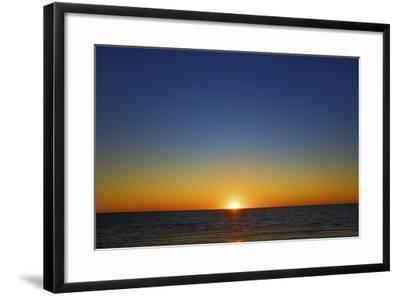 Sunset Impression at Ocean-Frank Krahmer-Framed Photographic Print