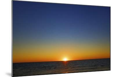 Sunset Impression at Ocean-Frank Krahmer-Mounted Photographic Print