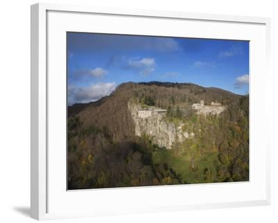 Air View of La Verna Hermitage-Guido Cozzi-Framed Photographic Print