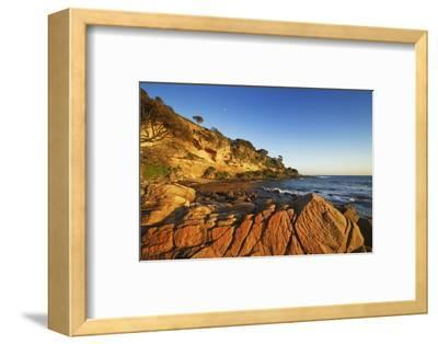 Coast Landscape at Bunker Bay-Frank Krahmer-Framed Photographic Print