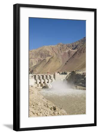 Alchi, the Dam along Indus River-Guido Cozzi-Framed Photographic Print