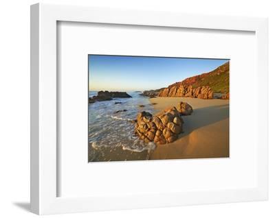 Rocky Coast at Injidup-Frank Krahmer-Framed Photographic Print