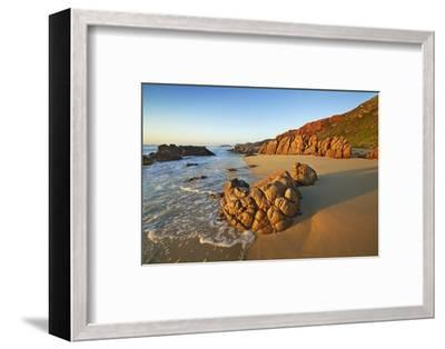 Rocky Coast at Injidup-Frank Krahmer-Framed Photographic Print