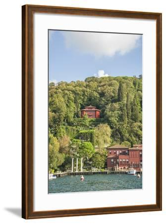 Beautiful Houses along Bosporus-Guido Cozzi-Framed Photographic Print