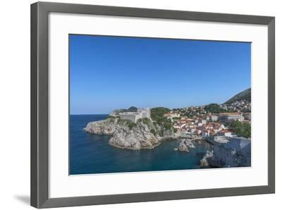 Fort of St. Lawrence and Pile-Rob Tilley-Framed Photographic Print