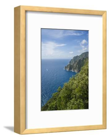 Landscape along the Trail to San Fruttuoso-Guido Cozzi-Framed Photographic Print