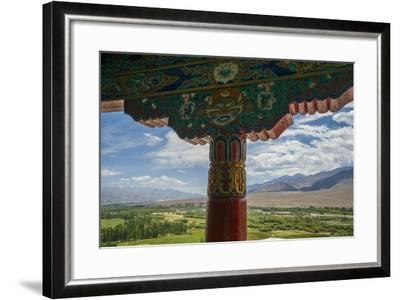 Spituk Monastery, near Leh, View of Indus Valley-Guido Cozzi-Framed Photographic Print