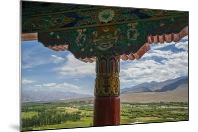 Spituk Monastery, near Leh, View of Indus Valley-Guido Cozzi-Mounted Photographic Print
