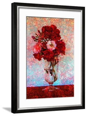 Flower Vase--Framed Photographic Print
