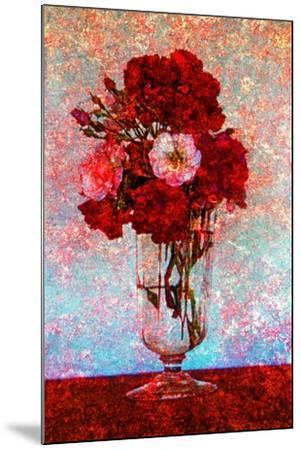 Flower Vase--Mounted Photographic Print