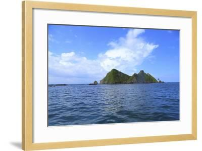 The Coast between Dominical and Uvita.-Stefano Amantini-Framed Photographic Print
