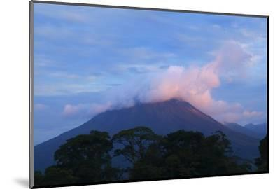 Arenal Volcano National Park, View of the Volcano.-Stefano Amantini-Mounted Photographic Print