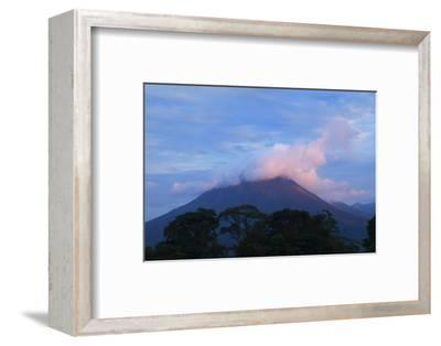 Arenal Volcano National Park, View of the Volcano.-Stefano Amantini-Framed Photographic Print