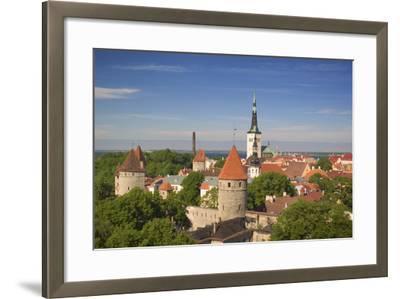 Tallinn-Jon Hicks-Framed Photographic Print