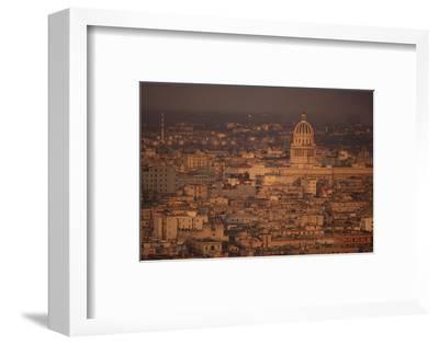 View of Havana Cuba-DLILLC-Framed Photographic Print