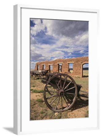 Dilapidated Wagon-DLILLC-Framed Photographic Print