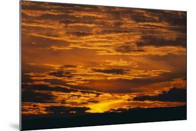 Sunset-DLILLC-Mounted Photographic Print