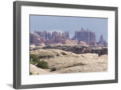 The Needles Rock Formation-DLILLC-Framed Photographic Print