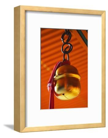 Bell in Fushimi-Inari-Taisha Shrine-Jon Hicks-Framed Photographic Print
