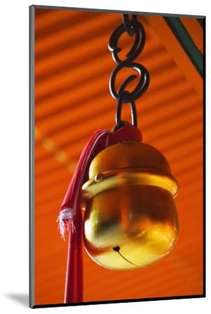 Bell in Fushimi-Inari-Taisha Shrine-Jon Hicks-Mounted Photographic Print