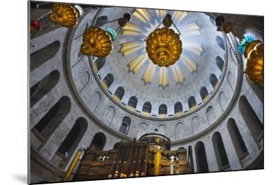 Dome Interior in the Church of the Holy Sepulchre-Jon Hicks-Mounted Photographic Print