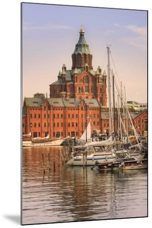 Uspenski Cathedral and Helsinki Harbor-Jon Hicks-Mounted Photographic Print