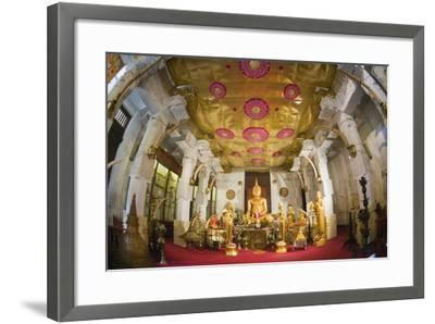 Decorative Shrine and Statues-Jon Hicks-Framed Photographic Print