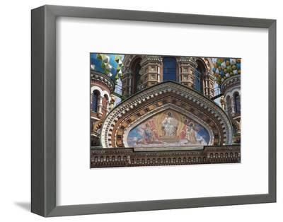The Church of the Spilled Blood.-Jon Hicks-Framed Photographic Print
