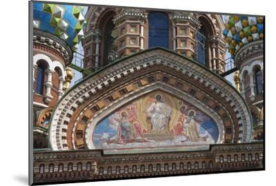 The Church of the Spilled Blood.-Jon Hicks-Mounted Photographic Print