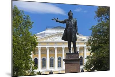 The Russian Museum.-Jon Hicks-Mounted Photographic Print