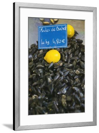 Mussels for Sale in Aix-En-Provence-Jon Hicks-Framed Photographic Print