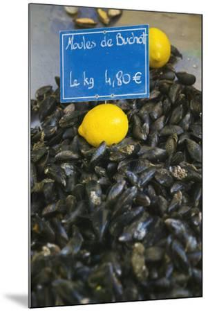 Mussels for Sale in Aix-En-Provence-Jon Hicks-Mounted Photographic Print