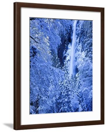 Bridal Vel Falls, Yosemite National Park, California, USA-Scott Smith-Framed Photographic Print