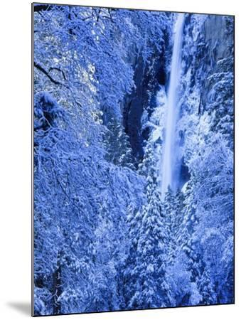 Bridal Vel Falls, Yosemite National Park, California, USA-Scott Smith-Mounted Photographic Print